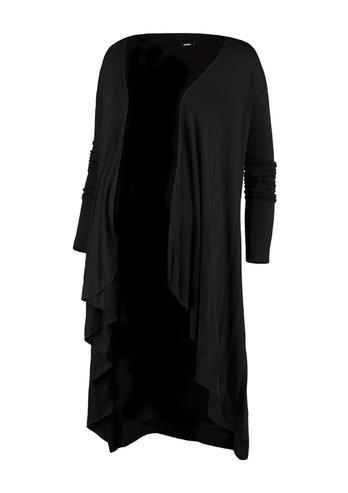 Cardigan Strickjacke schwarz