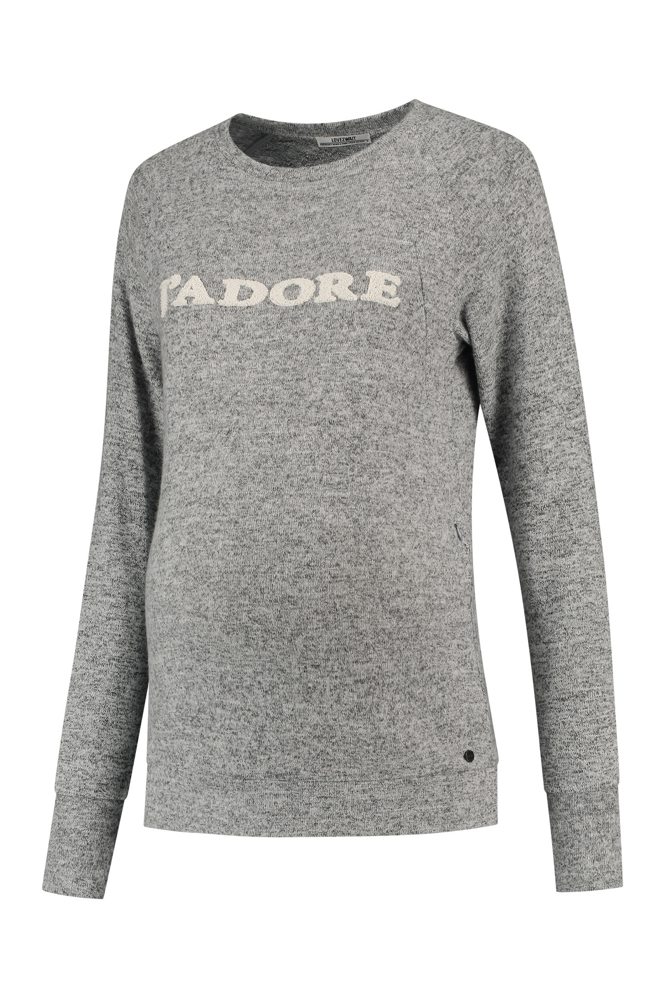 Umstandssweatshirt Stillsweatshirt J'adore