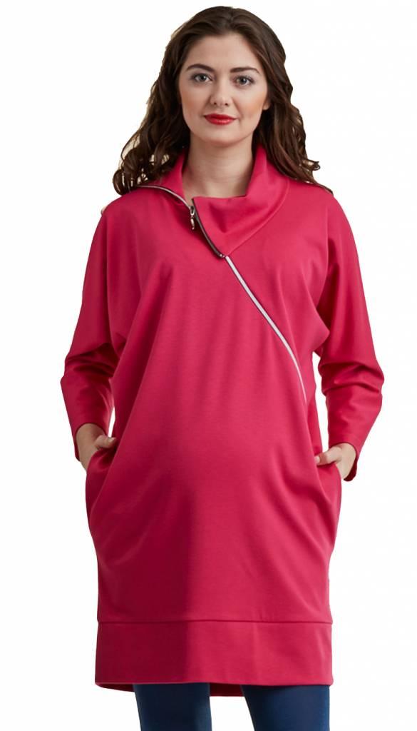 Umstandspullover - Stillpullover pink